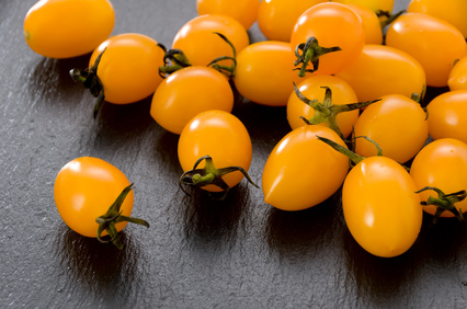 Mini San Marzano Tomaten gelb