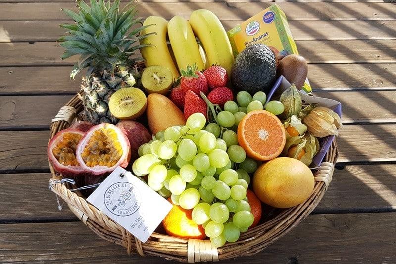Bio Obstkorb bestellen