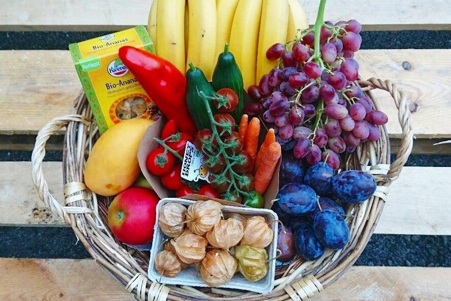 Obstkorb fürs büro bestellen