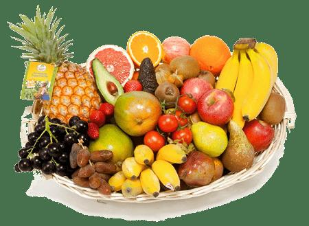 Obst Geschenk