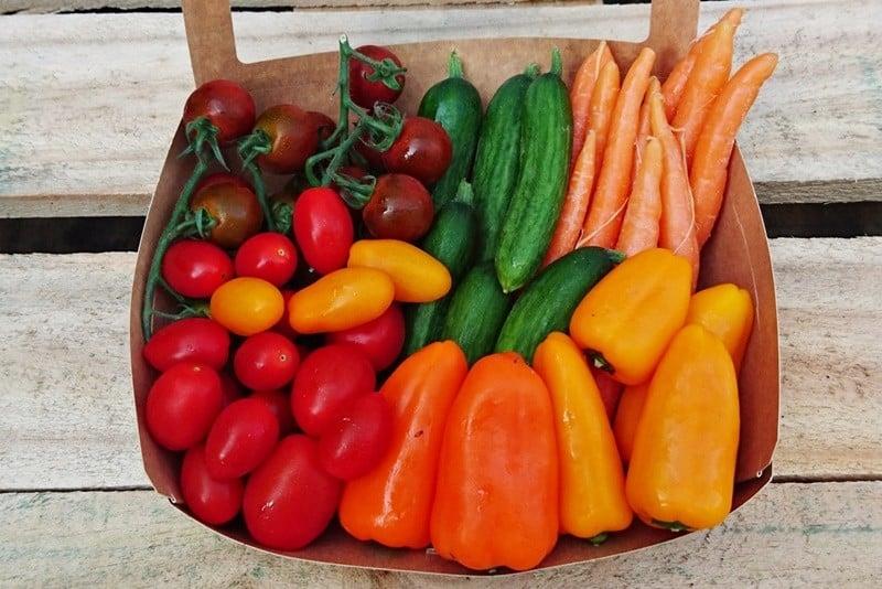Snackgemüse bestellen