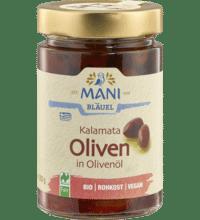 Kalamata Oliven in Olivenöl, 280 gr Glas (180 gr)
