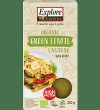 Explore Cuisine Lasagne aus grünen Linsen, 250 gr Packung